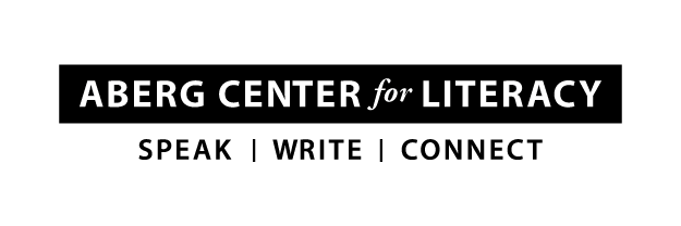 Aberg Center for Literacy logo